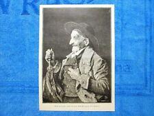 Testa di vecchio, studio del prof. Andreotti