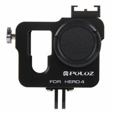 PULUZ Aluminum Alloy Housing Shell Protective Case Frame Cage For GoPro Hero 4