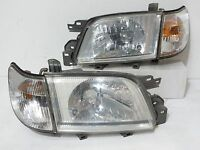 JDM 00-02 SUBARU FORESTER SF5 HEADLIGHTS & CORNER LIGHTS HEAD LAMP LATE MODEL