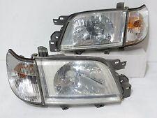 JDM 00-02 SUBARU FORESTER SF5 HEADLIGHTS & CORNER LIGHTS HEAD LAMP LATE MODEL
