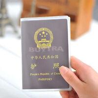 2pcs Ritzy transparent passeport étui porte-carte ID protections BB