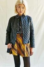 Pele Che Coco Kelly Quilted Recycled Leather Jacket XS $298 6122