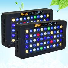 2*165w Dimmbar LED Aquarium Beleuchtung Light Lampe Meerwasser Aquariumleuchte