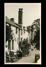 Somerset LUCCOMBE Village scene Pram Children RP PPC by H H Hole c1930s?