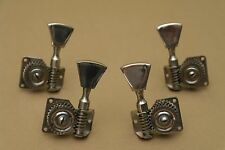 Bass guitar tuners 4 in line or 2+2, Original Soviet Tuning Pegs,  Made in USSR