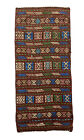 ANTIQUE TURKISH TRADITIONAL HAND MADE FLAT WEAVE WOOL KILIM 123 x 55  4.0 x 1.8