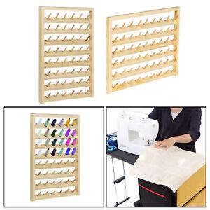 Wood Sewing Thread Stand Organizer Craft Embroidery Storage Rack Holder