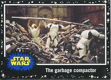 Star Wars JTTFA Black Parallel Base Card #34 The garbage compactor