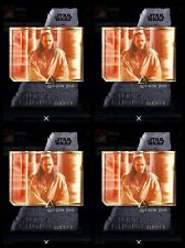 Topps Star Wars Digital Card Trader Qui-Gon Jinn Spectrum Black Variant Award