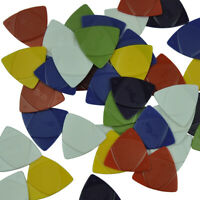 Lots of 50pcs Alice Triangle ABS Guitar Picks 3 Gauges in 1 Thin Medium Heavy