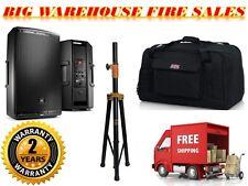 JBL EON615 1000-W 2-Way Powered Speaker System + Gator Bag + Stand