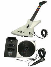 Bundle XBOX 360 Red Octane Guitar & DJ Hero Xplorer Explorer Wired Controller