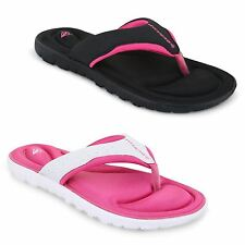 Flat (less than 0.5') Flip Flops Synthetic Shoes for Women