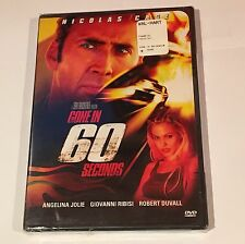 Gone in 60 Seconds (DVD, 2000)