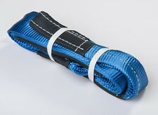 """3"""" 26000 lbs Tow Strap 10ft winch tree saver protector off-road snatch recovery"""