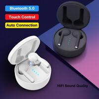 Bluetooth 5.0 In-Ear Kopfhörer Wireless Kabellos Stereo Sport Headset Ladebox