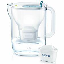 BRITA Style XL Maxtra+ Plus 3.6L Water Filter Fridge Jug with 1 Cartridge - Blue