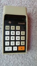 Vintage Texas Instruments Ti-2500 Electronic Calculator Working!