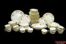 Vintage 86 pc Minton Ancestral Fine Bone China Set S-376 Floral Service for 8+
