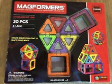 Magformers Standard Set 30 Pieces (VGUC)
