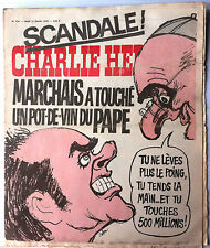 """Charlie hebdo n°274 du 12/2/1976; """"Marchais à touché au pot de vin du Pape"""""""