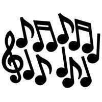Music Note Cutouts