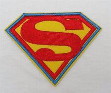 DIY Superman Hero Logo Emblem Sew Iron-On Embroidered Applique Patch Badge