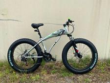 "Fatbike Mountainbike  26 Zoll 44 cm 24 Gang ""BNQ"" Scheibenbremse Grau"