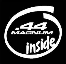 44 MAGNUM Inside decal sticker,.40 caliber,Pistol,Hand Gun,9mm,.44 caliber