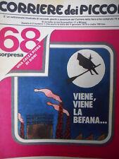 Corriere dei Piccoli n°1 1979 Poster Mio Mao Corriere dei Piccoli anno 1935[C19]