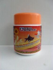 Fish Food Ocean Nutrition Premium Goldfish pellets 110g