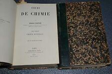 Cours de chimie minérale, de Gautier Armand 1887