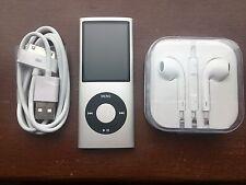 Apple 8GB iPod Nano 4th Generation Silver NEW