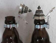 Bierflaschen-Zinndeckel Flaschendeckel Deckel spitz Spitzdeckel NEU