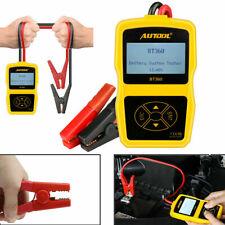 12V Car Battery Tester Analyser Cranking Charging Test Dianostic EN CCA100-1400