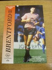 30/09/1989 Brentford v Wigan Athletic  . Thanks for viewing this item, buy in co