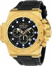 Invicta Akula 23103 Men's Cushion Analog Chronograph Date Carbon Color Watch