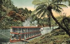 New Zealnd,House Boat on the Wanganui River,North Island,Used,1908