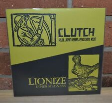 """CLUTCH LIONIZE - Limited RSD 7"""" Split Single, Hand Numbered Jackets NEW!"""