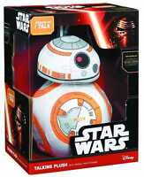 "STAR WARS BB-8 LARGE 15"" TALKING PLUSH BRAND NEW IN BOX DISNEY THE FORCE AWAKENS"