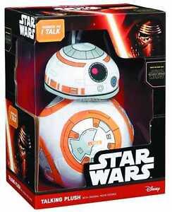 "STAR WARS BB-8 LARGE 15"" TALKING PLUSH BRAND NEW IN BOX DISNEY THE FORCE AWAKENS"