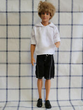 Fashion Summer Doll Clothes Doll Accessories White set for Barbie Ken doll