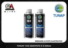 2 Tunap 183 additivo gasolio diesel iniettori pompa pulizia depositi carburatore