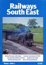 RAILWAYS SOUTH EAST Magazine, Winter 1990/1. 64-Pages. Free UK Post