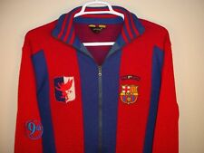 FC BARCELONA SOCCER JERSEY SOCCER SWEATER SIZE MENS LARGE