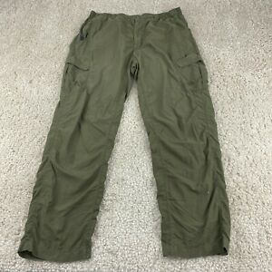 THE NORTH FACE Climalite Mens Hiking Outdoor Trousers Large Green Pants *