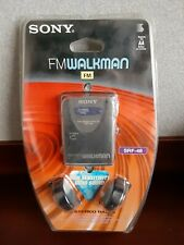 SONY FM Radio WALKMAN SRF-46 with Headphones NOS sealed 90's