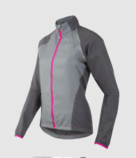 Pearl Izumi Women's ELITE Barrier Convertible Jacket 11231504 GREY/PINK Medium