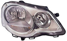 VOLKSWAGEN POLO 2005-2009 HEADLAMP CHROME DRIVER SIDE NEW O.E 6Q2941008N