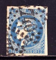 FRANCE 46B,GC 2740 ORLEANS LOIRET, pli, fente, bel aspect VARIETE: tache blanche